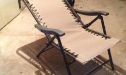 2 Lawn chairs for sale in perfect condition. Bought at Canadian Tire for $118.00 + tax. Sell for $60.00 firm