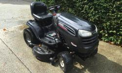 2007 Sears ride on lawnmower 44in Sold property no longer required