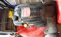 Gas mower $150