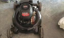 Lawnmower as in pic. Open to offers, was working last year. Needs tune up. No grass catcher.