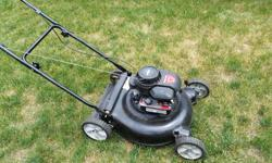 Yard Machines 158cc lawnmower.Mulch only there is no bag. Texting is preferred. Price is firm.