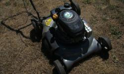 """Dependable 4.5 HP mulching/ side discharge lawnmower with fresh oil, sharp 21""""blade, clean carb,good deck, easy-first pull start, no bag, ready to work"""