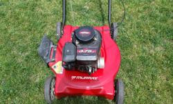 Texting is preferred. Murray 3.75 hp this lawnmower is not in excellent condition but it starts and does the job. Lawn Boy 2 cycle starts works very good. $40 Would recommend for cottage or small property. Price is firm.