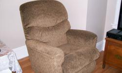 I'm selling my recliner for 400.00. Bought a new sectional and don't have enough room now. I paid 700.00 less then a year ago and it is still in excellent condition. Comes from a smoke free home.400.00 or best offer