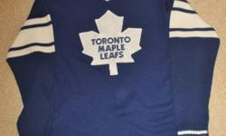 For Sale: Sweater by NHL -Toronto Maple Leafs Great condition-No rips,stains,tears,etc. Clean- size Large $20.