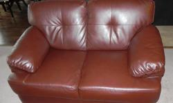 The loveseat is in excellent condition. It comes from non-smoking house.