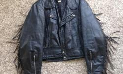 Motorcycle jacket. $25.- Ladies size 46 (motorcycle also for sale @ $2600.-)