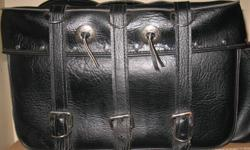Leather motorcycle sadllebag cases used in good condition.   905 505 1630   $99.00 obo   Check out my other Ad's