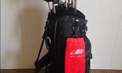 Spalding 3 - 9 Irons Driver Universal Putter Bag and Accessories