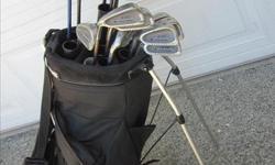 Left Handed Set of Golf Clubs