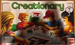 Creationary board game; in excellent condition.