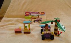 This set comes with all the pieces plus two action figurines (the original one and another one). This set can help your child pretend that they are at the beach.