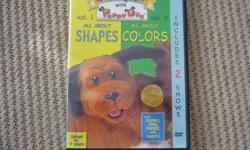 Let's Talk With Puppy Dog - Shapes and Colors DVD Includes 2 Shows: All About Shapes All about Colors Play Games, Sing, Dance and Learn! Located in Barrhaven