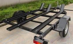 Im looking for a tilt or flatbed trailer, specifically built or modified to hold 2 motorcycles. Sport bikes mainly.   Here's my priorities: Reasonable price, maximum value. Not rotten. Solid construction. Lightweight as possible. Ease of use, one man