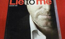 Lie To Me Season 1 DVD set. Price of $17 includes all taxes. SPECIAL OFFER - Mention in our store you saw this ad on Used Victoria, and receive an additional 10 percent off our all-inclusive online price. We also have more items for sale at The Bay Street