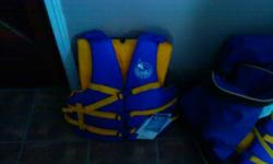i have a bag of brand new life jackets still in the pack with tags still on them 40.00