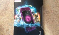 Life Proof case for a iPhone 6 Plus, purple in color, brand new still in box...gives the iPhone 6 Plus four-proof protection,water proof. Asking $60.00