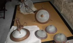 light fixtures like new .. your best offer for all....or 25.00 your choice