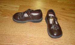 I have a pair of Like New Brown Sandals Size 8 Toddler Buster Brown for sale! These are in excellent condition and would look great in your child's room or to give as a gift. Comes from a non-smoking household. Do not miss out on this excellent