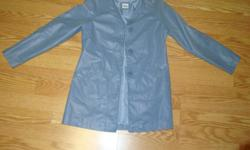 I have a Like New Jacket Coat Blue Suede Youth Size S for sale! This is in excellent condition and would look great in your child's room or to give as a gift. Comes from a non-smoking household. Do not miss out on this excellent opportunity to get this