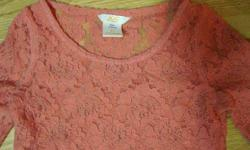 I have a Like New Shirt Lace Fancy Long Sleeve Pink Toddler size 5-6 for sale! This is in excellent condition and would look great in your child's room or to give as a gift. Comes from a non-smoking household. Do not miss out on this excellent opportunity