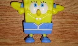 I have a Like New Spongebob Figurine Toy Figure for sale! This is in excellent condition and would look great in your child's room or to give as a gift. Comes from a non-smoking household. Do not miss out on this excellent opportunity to get this for a