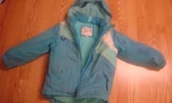 I have a Like New Teal Winter Coat Size 5 Child for sale! This is in excellent condition and would look great on your child or loved one or to give as a gift. Comes from a non-smoking household. Do not miss out on this excellent opportunity to get this
