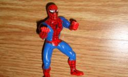 I have a Like New Toy Spiderman Figure! This is in excellent condition and would look great in your child's room or to give as a gift. Comes from a non-smoking household. Do not miss out on this excellent opportunity to get this for a fraction of the
