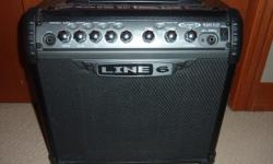 Line 6 Spider III 15 watt Amp Excellent guitar Amp with built in effects Rarely used, works fantastic $75 705 256 8599