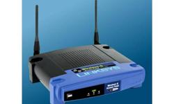 Recently upgraded to a new router and no longer need this one. A great router with good coverage throughout the house and really easy to set-up.  Comes with power cord.  Email with any questions.