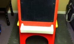 Easel & chalkboard. Please call. This ad was posted with the Kijiji Classifieds app. 595 0996