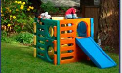 $100 Firm.   I do have the blue slide to go with it, it just isn't in my pictures, so I put up a google image to show you what the whole thing does look like.   It is in great condition, it just needs to be washed off.   Willing to deliver in