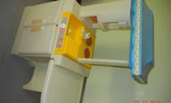 Durable Little Tikes play kitchen.  Double sided play.  $20.  Sorry photos are sideways.  Pick up in Renfrew