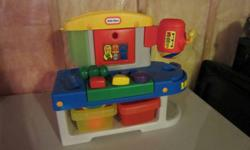 Little Tikes Workbench   from Smoke free and pet free home.