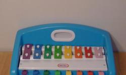 This xylophone sounds great and is in good condition.