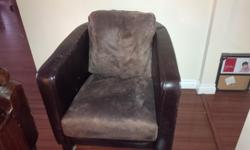 We're downsizing and getting rid of 2 brown leather chairs. They are in decent shape, they have some stains, marks, and in some areas the leather has cracked. But, they are in great structure, nothing is ripped nor broken. They are very comfortable and