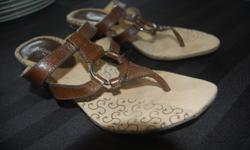 Near new Liz Claiborne sandals. Very little wear. Downsizing shoe collection. text or email please