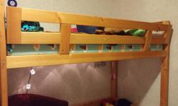 Duncan GUC Mattress and wooden loft bed Bought a bigger bed need space back and need gone