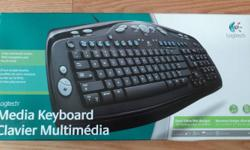Logitech Media Keyboard $9   Pickup at 404 & Elgin Mills   Barely used. In like new working condition.