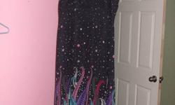 nice dress in good condition...adjustable straps...very comfortable... great for summer or witha jacket for winter...size 2x...