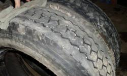 I HAVE A LIKE NEW PAIR OF LONG MARCH 225/70R19.5 RADIAL HEAVY TRUCK TIRES FOR SALE, THEY ARE IN EXCELLENT CONDITION BARELY USED 90% TRED LEFT ON THEM. ASKING $300.00 FOR THE PAIR - INSTALLATION AND BALANCING IS ALSO AVAILABLE. IF YOU'RE LOOKING FOR ANY