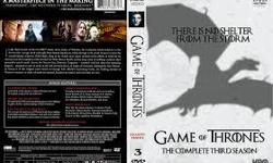Hi, i would like to buy a reasonably priced, like new condition set of season three DVDs for Game of Thrones. Please contact me if you have one for sale. Email, call, or text 613-617-6456.