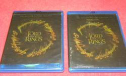 Lord of the Rings the motion picture Trilogy on Bluray, item #142470-2. Price of $26 includes all taxes. PLEASE REFER TO INVENTORY #142470-2 WHEN INQUIRING. We also have more items for sale at The Bay Street Broker located on the corner of Bay and