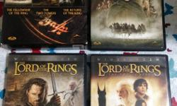 All 3 DVDs in the trilogy. Used but well taken care of. Will not sell separately.