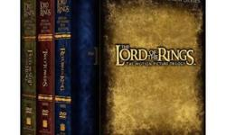 """This is a New Special Extended DVD Edition of """"The Lord of the Rings Trilogy"""". The 12 DVD's boxed collection was released on December 10, 2004, has a run time of 681 minutes and includes The Fellowship of the Ring, The Two Towers and The Return of the"""