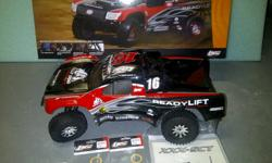 For sale is a Losi XXXSCT rc short course truck. This truck is being sold as a roller only. It DOES have a steering servo but needs motor, esc, radio and receiver to run. This way you can choose your own powertrain for the truck. It has been run up and