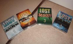"""Television series """"Lost"""" Seasons 1, 2, & 3 = barely used Season 4 = never been opened Asking $15 for each season OR $40 for all 4 seasons. The survivors of Oceanic Flight 815 were 1,000 miles off course when they crashed on a lush, mysterious island. Each"""