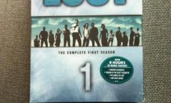 !!! SAVE 25% - was $20 - SAVE 25% !!! Perfect gift for the LOST fan on your list!!! For only $15 you can have the LOST - The Complete First Season dvd collection - unopened, still in the original plastic wrap. There are 4 dvd's with over 8 hours of bonus