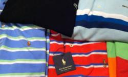 Lot of Polo Ralph Lauren and Lacoste polo shirts. Sizes Large (Lacoste 7,8) 100% Authentic kist bought them on sale in the States. $45 Individually or $175 for all. This ad was posted with the Kijiji Classifieds app.
