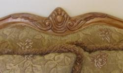 I am selling a beautiful piece of furniture. It has never been used because it has been a show piece. I am getting a new outfit so I need to sell this love seat. It is very comfortable to sit on.  39 wide x 65 deep Please call Caterina 519-928-3162